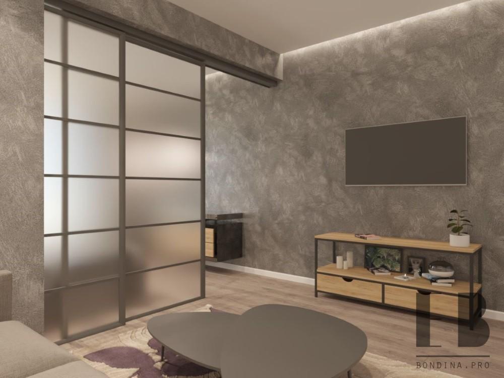 Дизайн двухкомнатной квартиры для молодой семьи