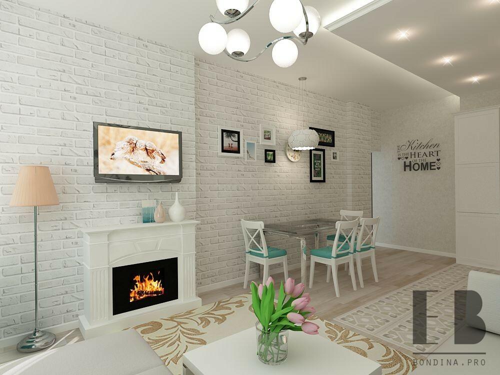 Камин в маленькой гостиной дизайн интерьера