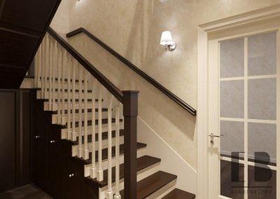 Лестничный холл неоклассика