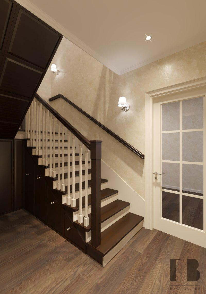 Stair hall design