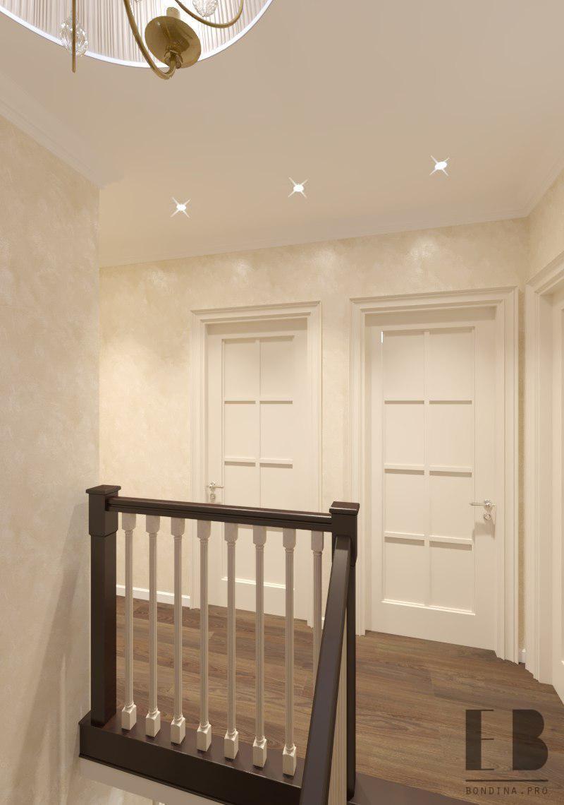 Interior design staircase hall