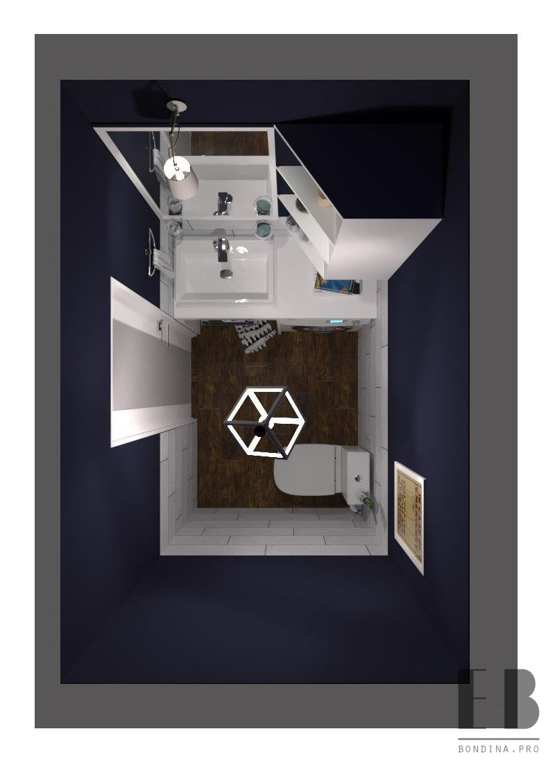 Toilet design with sink