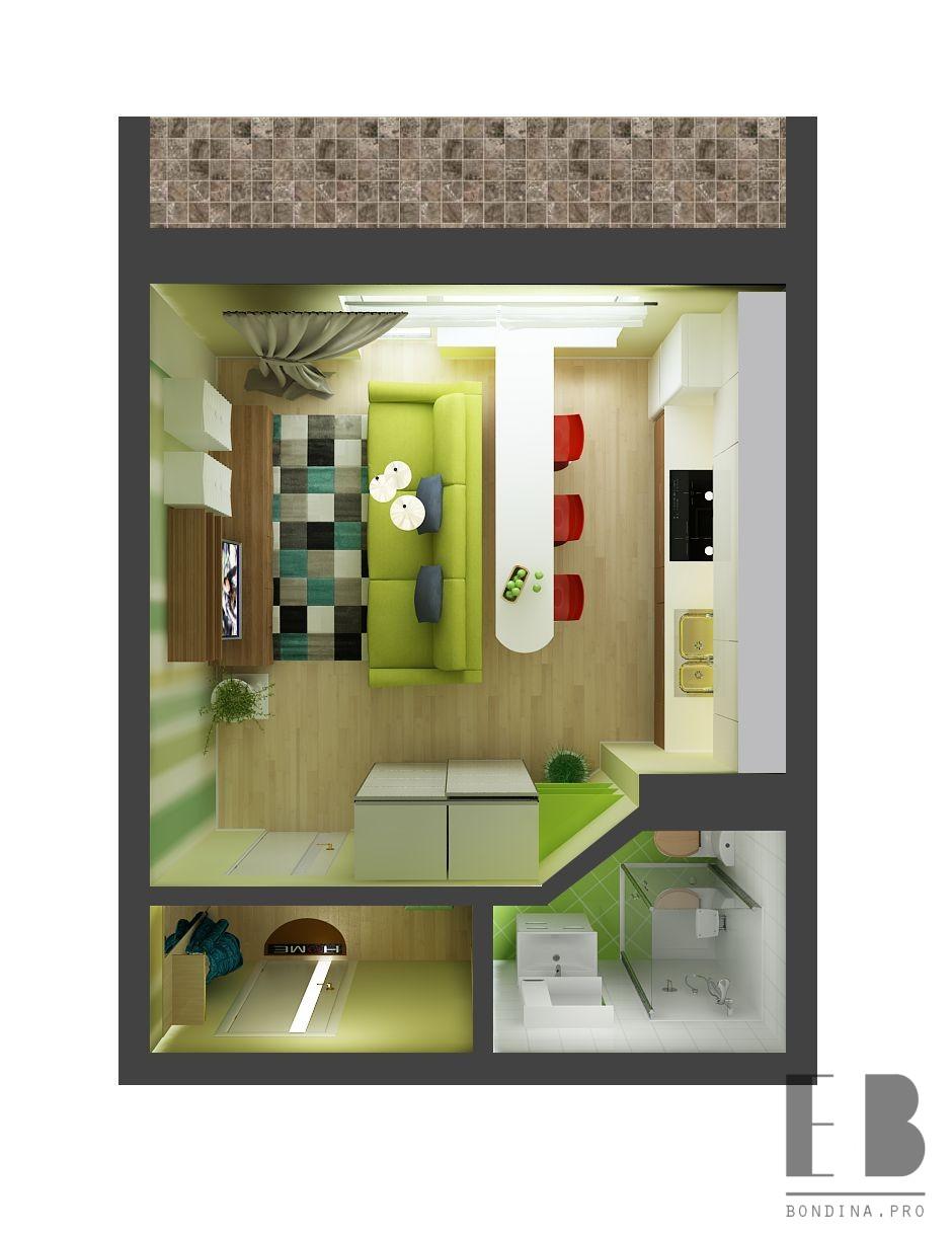 Studio apartment project