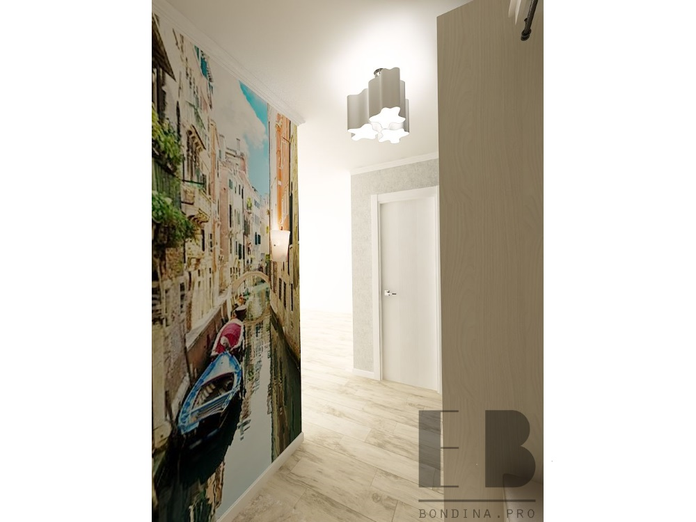 Design small hallway