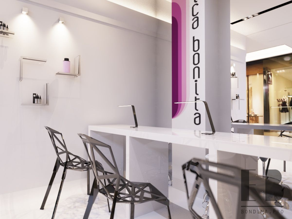 Interior Design Nail Salon
